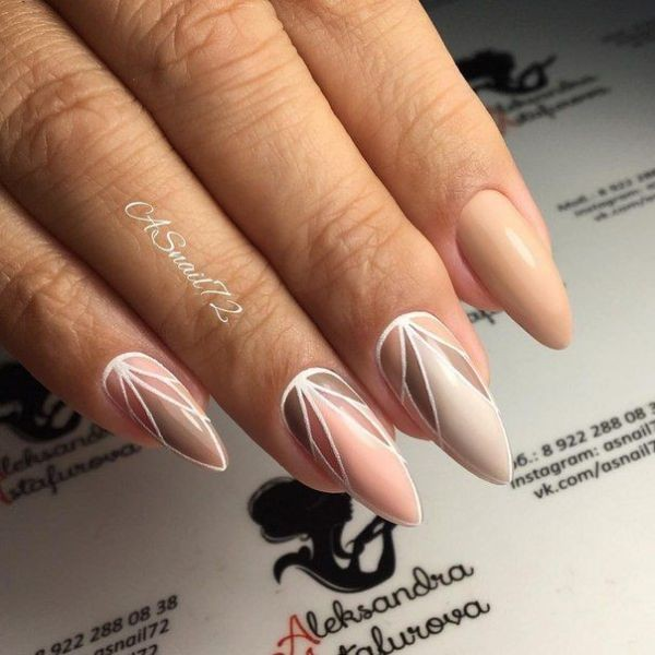 nude-nails-17 16+ Lovely Nail Polish Trends for Spring & Summer 2018