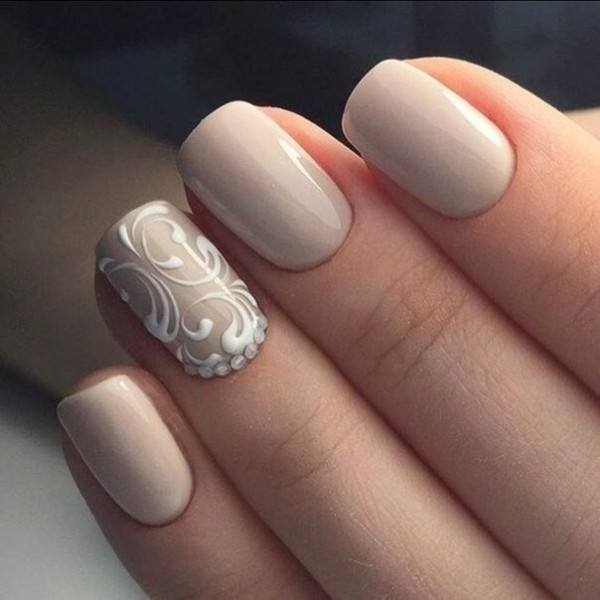 nude-nails-21 16+ Lovely Nail Polish Trends for Spring & Summer 2018
