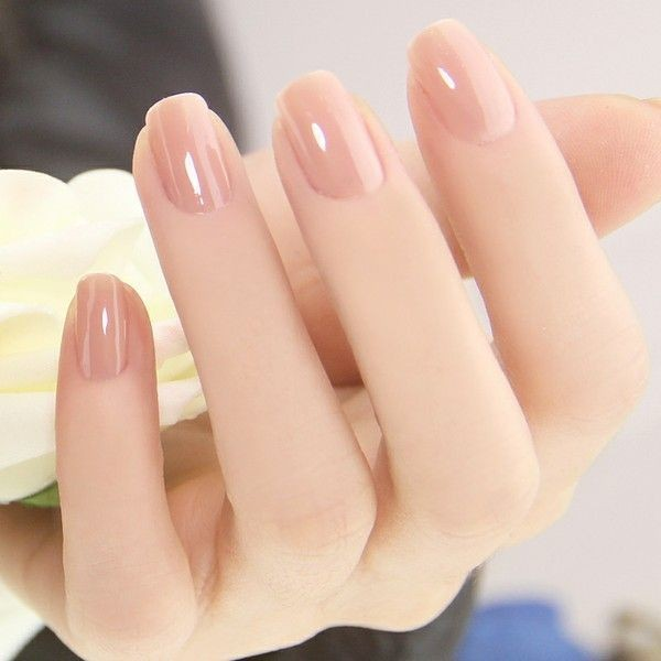 nude-nails-23 16+ Lovely Nail Polish Trends for Spring & Summer 2020