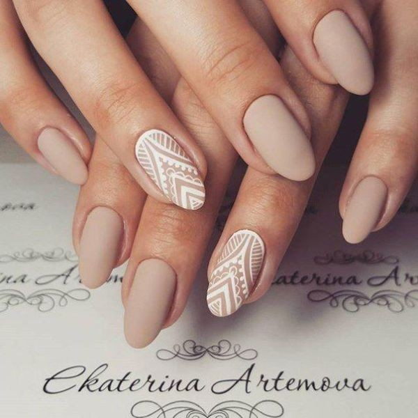 nude-nails-24 16+ Lovely Nail Polish Trends for Spring & Summer 2020
