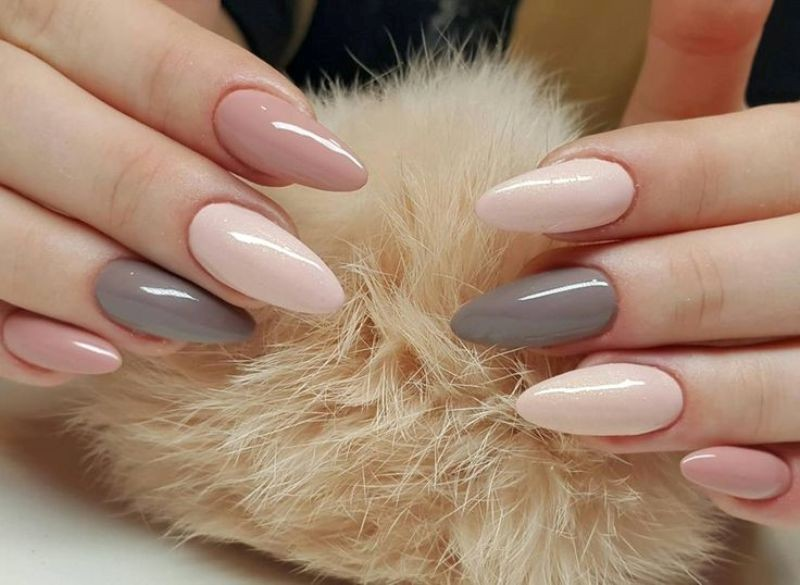 nude-nails-26 16+ Lovely Nail Polish Trends for Spring & Summer 2020
