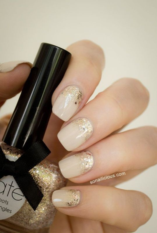 nude-nails-4 16+ Lovely Nail Polish Trends for Spring & Summer 2018
