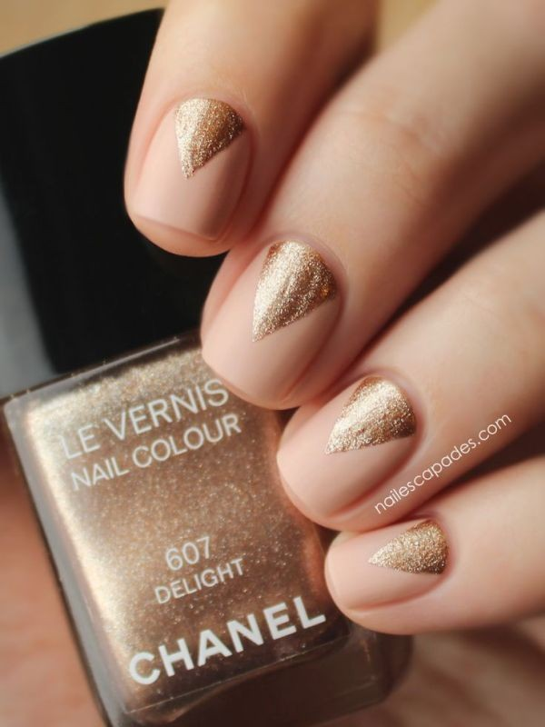 nude-nails-8 16+ Lovely Nail Polish Trends for Spring & Summer 2018