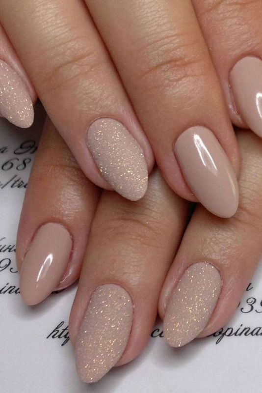 nude-nails 16+ Lovely Nail Polish Trends for Spring & Summer 2020