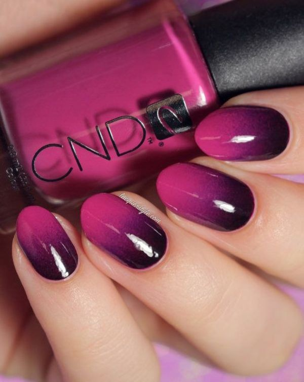 ombre-nails-2 16+ Lovely Nail Polish Trends for Spring & Summer 2018