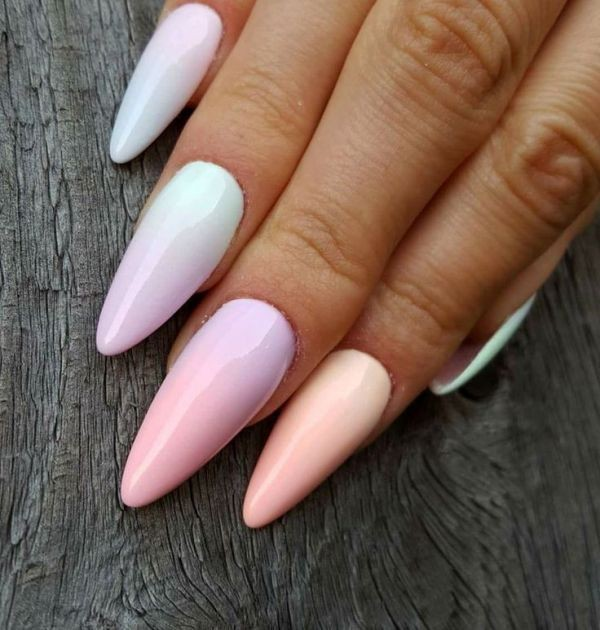 ombre-nails-4 16+ Lovely Nail Polish Trends for Spring & Summer 2018