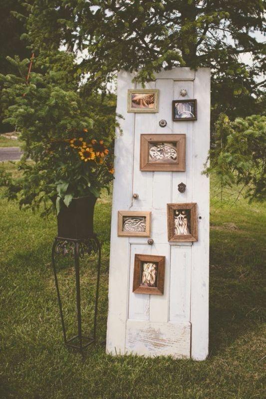 photo-display-wedding-decor-ideas-1 88+ Unique Ideas for Decorating Your Outdoor Wedding