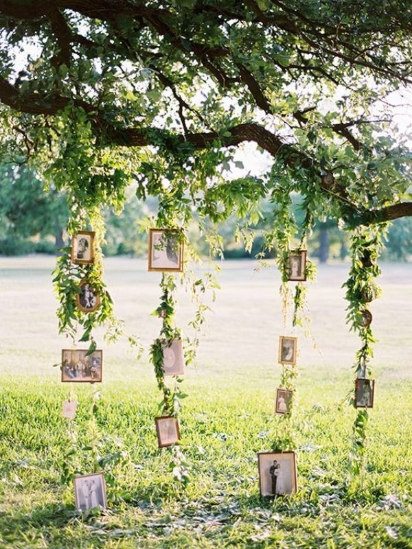 photo-display-wedding-decor-ideas-10 88+ Unique Ideas for Decorating Your Outdoor Wedding