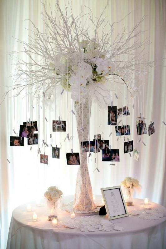 photo-display-wedding-decor-ideas-13 88+ Unique Ideas for Decorating Your Outdoor Wedding