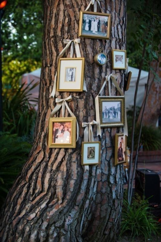 photo-display-wedding-decor-ideas-3 88+ Unique Ideas for Decorating Your Outdoor Wedding