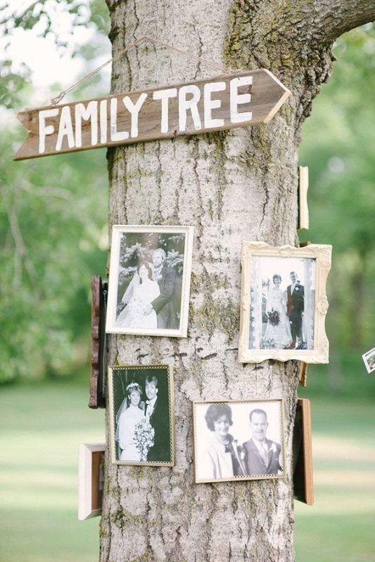 photo-display-wedding-decor-ideas-4 88+ Unique Ideas for Decorating Your Outdoor Wedding