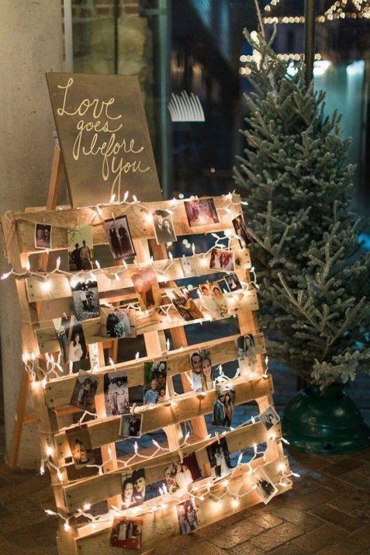 photo-display-wedding-decor-ideas-6 88+ Unique Ideas for Decorating Your Outdoor Wedding