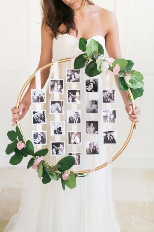 photo-display-wedding-decor-ideas-7 88+ Unique Ideas for Decorating Your Outdoor Wedding