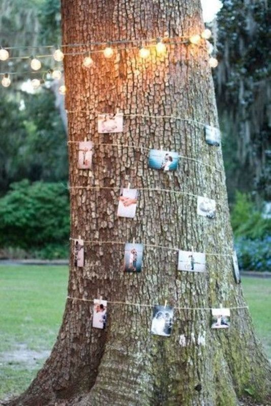 photo-display-wedding-decor-ideas 88+ Unique Ideas for Decorating Your Outdoor Wedding