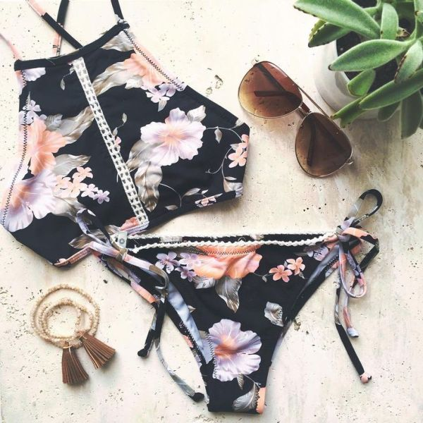printed-swimsuits-and-bikinis-9 18+ HOTTEST Swimsuit Trends for Summer 2020