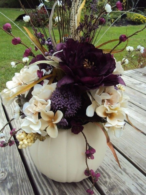 pumpkin-wedding-centerpieces-7 79+ Insanely Stunning Wedding Centerpiece Ideas