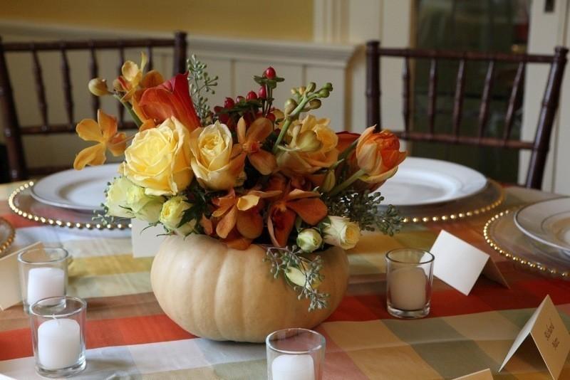 pumpkin-wedding-centerpieces-9 79+ Insanely Stunning Wedding Centerpiece Ideas