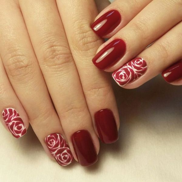 red-nails-2 16+ Lovely Nail Polish Trends for Spring & Summer 2018