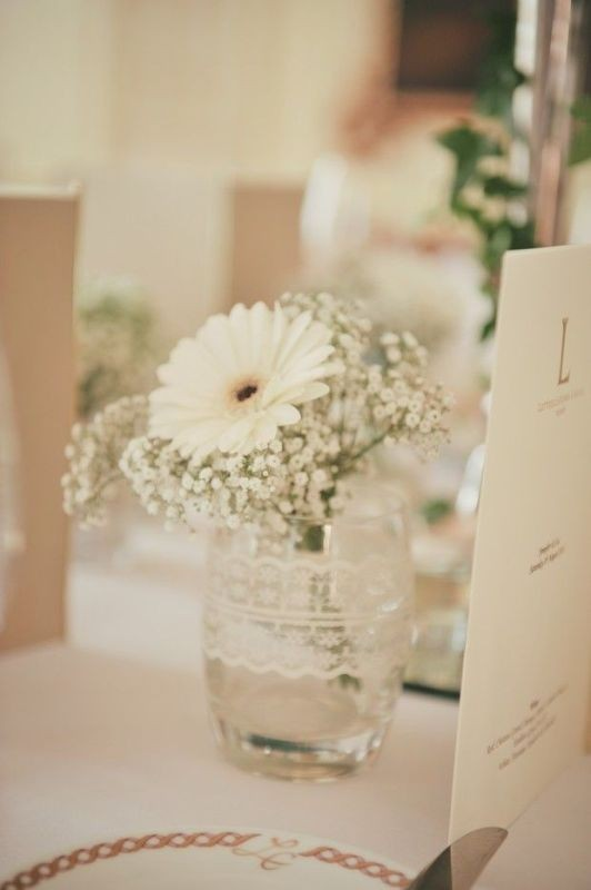 single-flower-wedding-centerpieces-2 11 Tips on Mixing Antique and Modern Décor Styles
