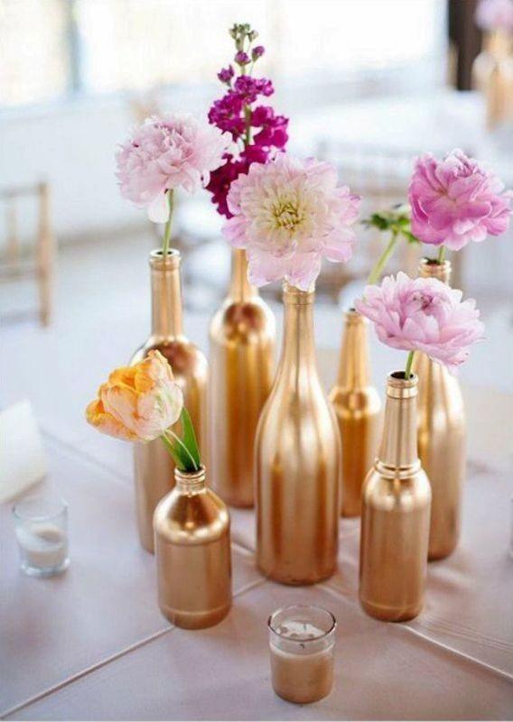 single-flower-wedding-centerpieces-8 79+ Insanely Stunning Wedding Centerpiece Ideas