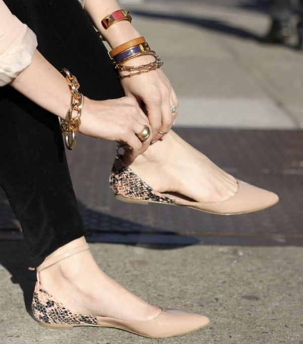 snakeskin-shoes-12 11+ Catchiest Spring & Summer Shoe Trends for Women 2018