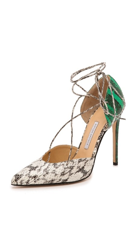 snakeskin-shoes-3 11+ Catchiest Spring & Summer Shoe Trends for Women 2018
