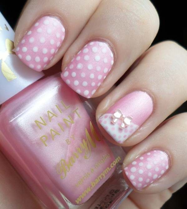 soft-pink-nails-2 16+ Lovely Nail Polish Trends for Spring & Summer 2018