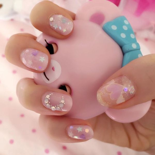 soft-pink-nails-3 16+ Lovely Nail Polish Trends for Spring & Summer 2020
