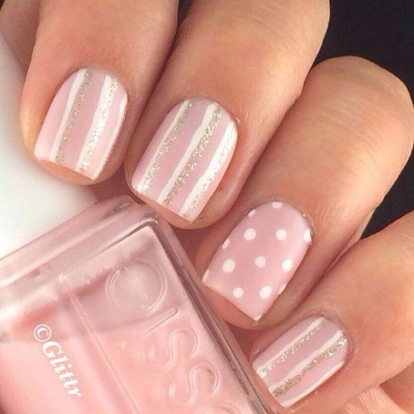 striped-nails-10 16+ Lovely Nail Polish Trends for Spring & Summer 2018
