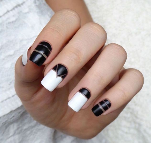 striped-nails-19 16+ Lovely Nail Polish Trends for Spring & Summer 2018