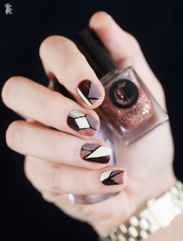 striped-nails-2 16+ Lovely Nail Polish Trends for Spring & Summer 2018
