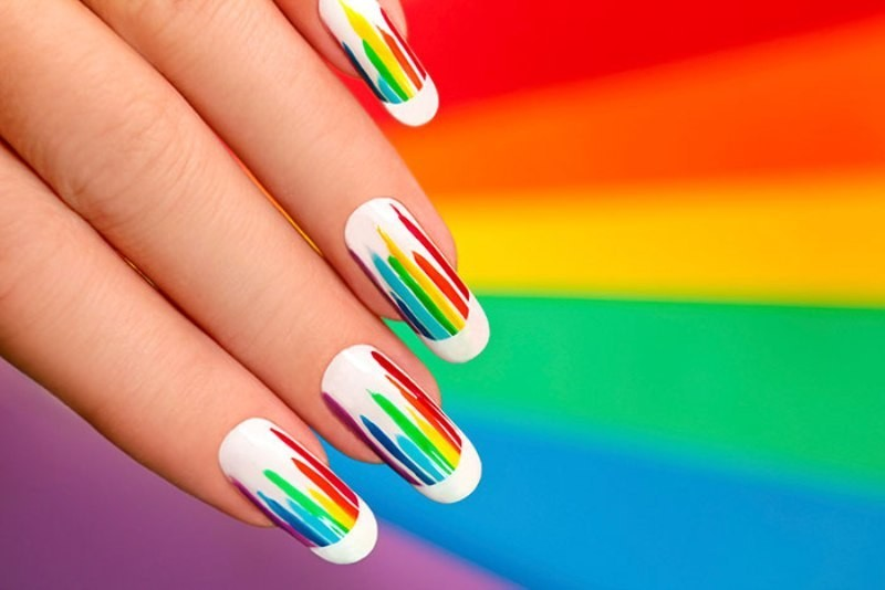 striped-nails-24 16+ Lovely Nail Polish Trends for Spring & Summer 2018