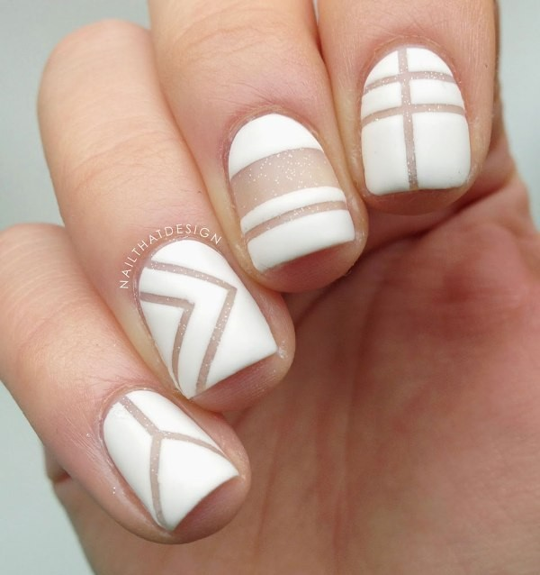striped-nails-3 16+ Lovely Nail Polish Trends for Spring & Summer 2018