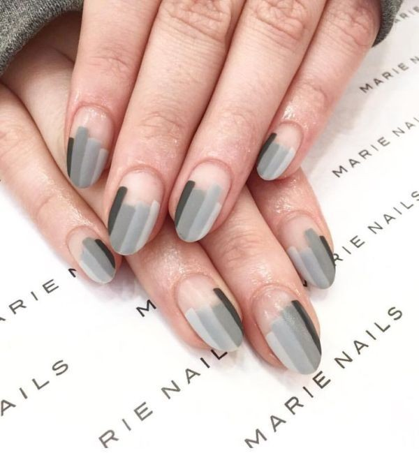 striped-nails-4 16+ Lovely Nail Polish Trends for Spring & Summer 2020