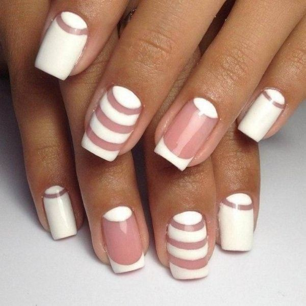 striped-nails-6 16+ Lovely Nail Polish Trends for Spring & Summer 2018