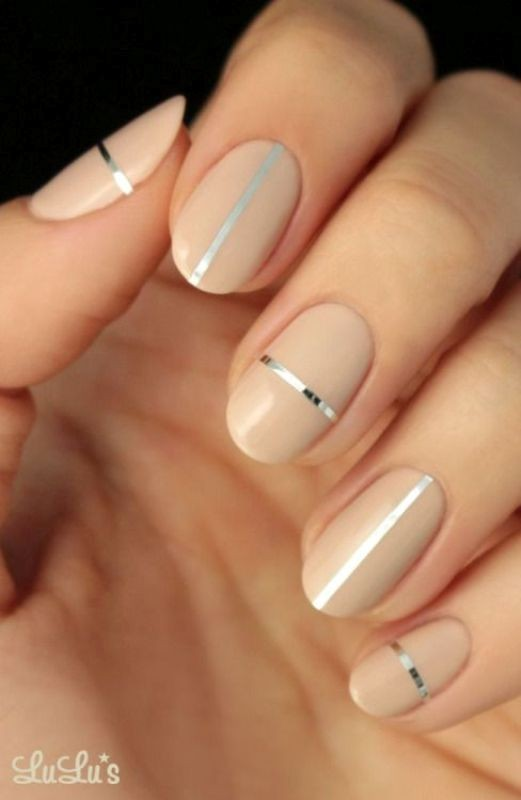 striped-nails 16+ Lovely Nail Polish Trends for Spring & Summer 2018