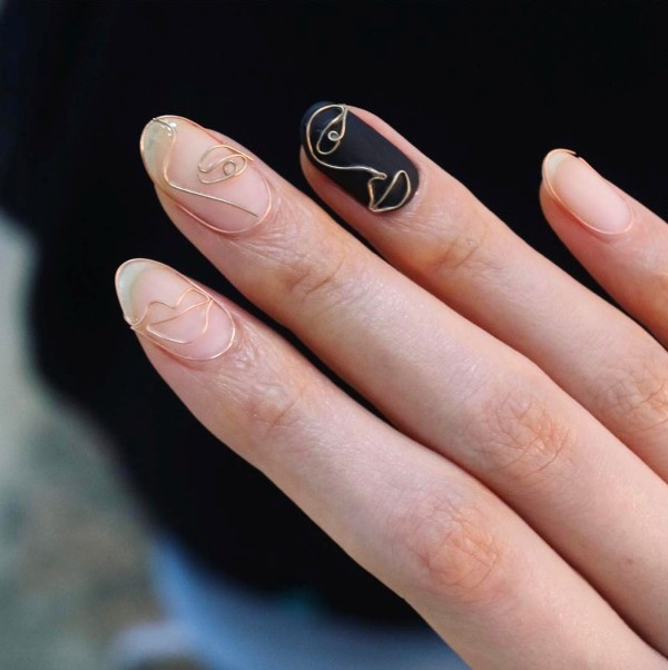 summer-nails-2017-11 16+ Lovely Nail Polish Trends for Spring & Summer 2020