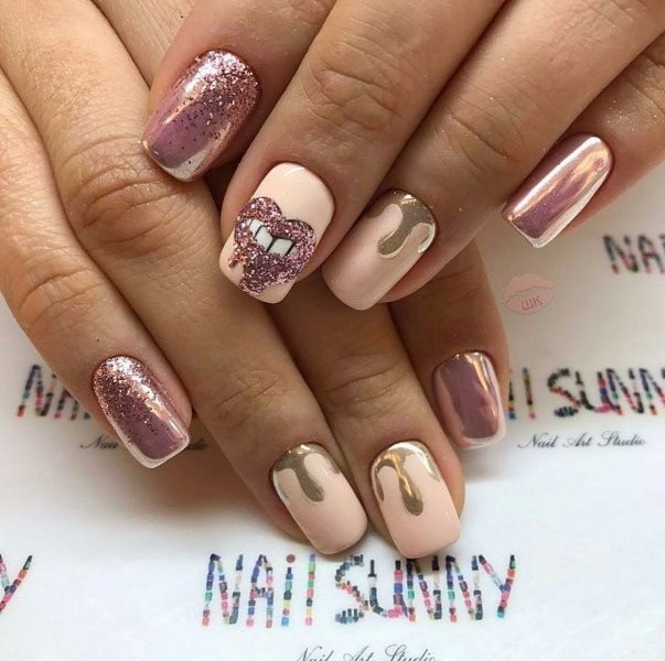 summer-nails-2017-6 16+ Lovely Nail Polish Trends for Spring & Summer 2020