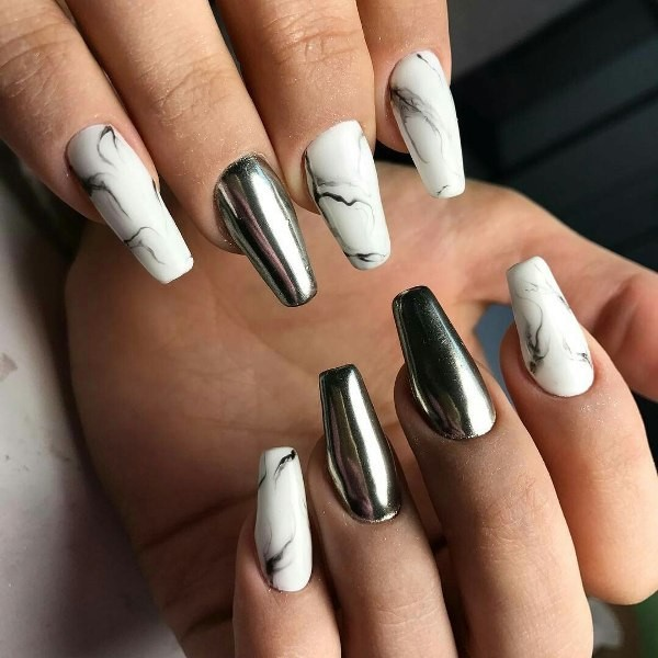 summer-nails-2017-8 16+ Lovely Nail Polish Trends for Spring & Summer 2020