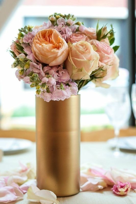 tall-wedding-centerpieces-13 11 Tips on Mixing Antique and Modern Décor Styles
