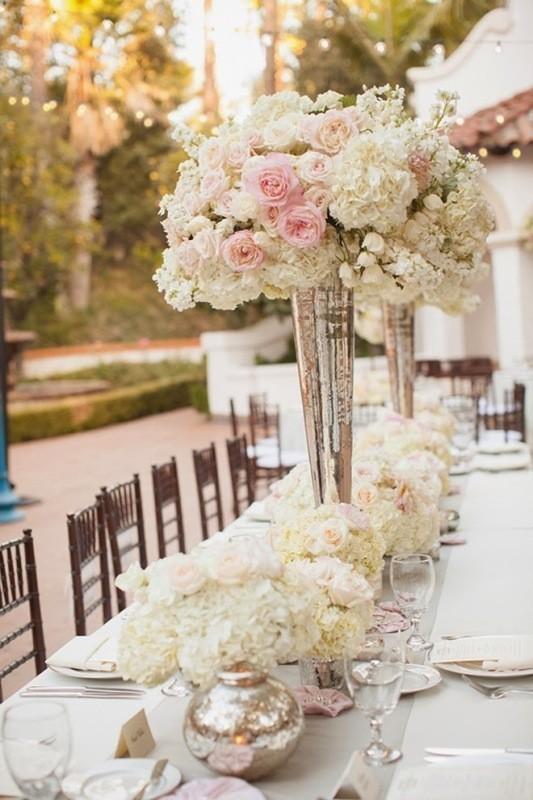 tall-wedding-centerpieces-14 79+ Insanely Stunning Wedding Centerpiece Ideas