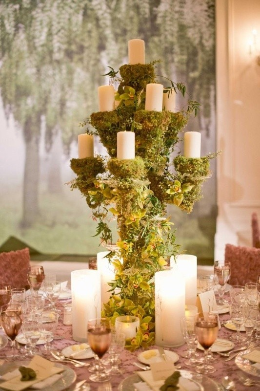 tall-wedding-centerpieces-20 11 Tips on Mixing Antique and Modern Décor Styles