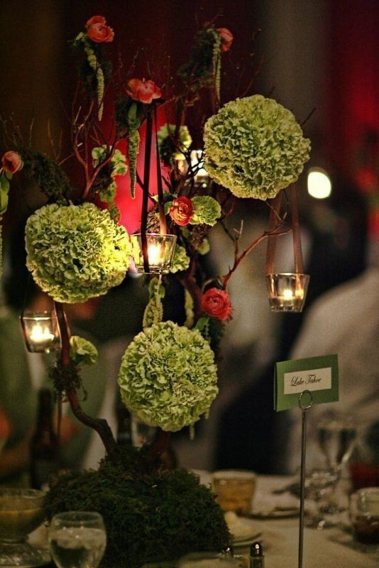 tall-wedding-centerpieces-22 11 Tips on Mixing Antique and Modern Décor Styles