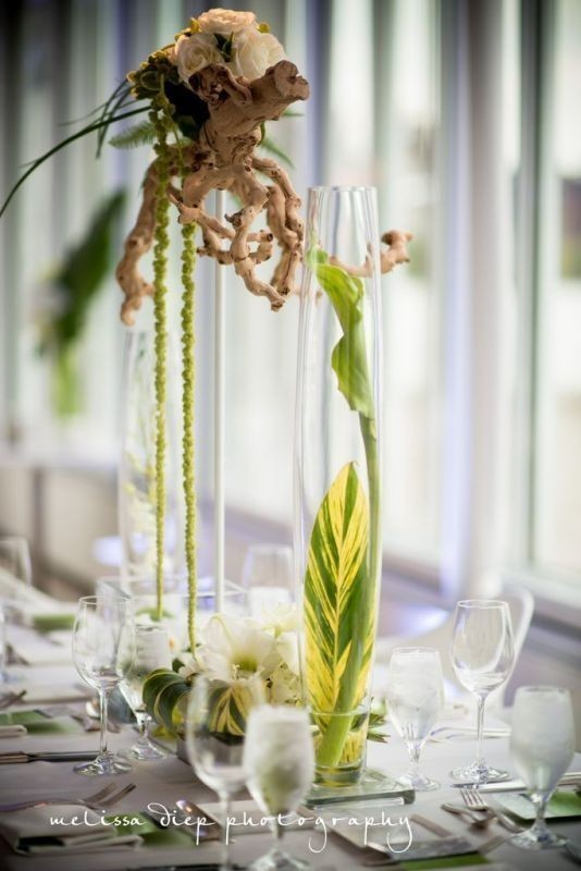 tall-wedding-centerpieces-24 11 Tips on Mixing Antique and Modern Décor Styles