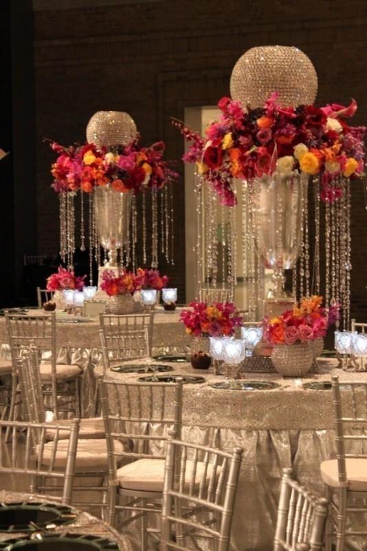 tall-wedding-centerpieces-26 79+ Insanely Stunning Wedding Centerpiece Ideas