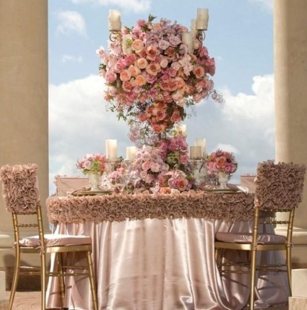 tall-wedding-centerpieces-30 79+ Insanely Stunning Wedding Centerpiece Ideas