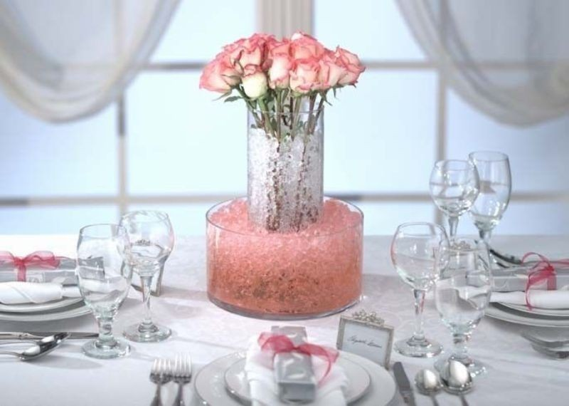 tall-wedding-centerpieces-36 11 Tips on Mixing Antique and Modern Décor Styles