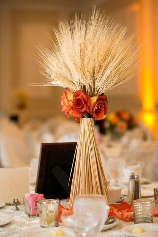 tall-wedding-centerpieces-4 11 Tips on Mixing Antique and Modern Décor Styles
