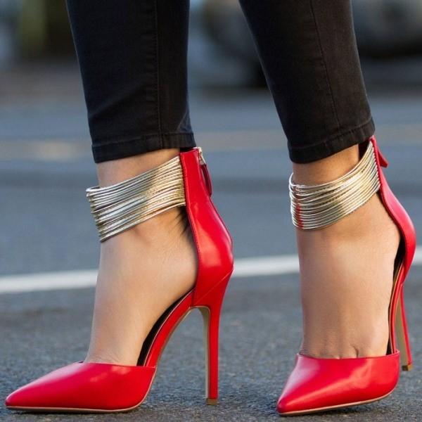 thin-heels-15 11+ Catchiest Spring / Summer Shoe Trends for Women 2020