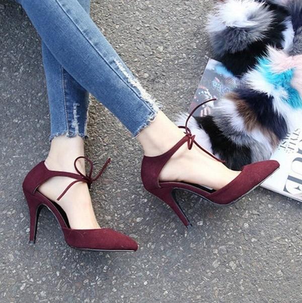 thin-heels-18 11+ Catchiest Spring / Summer Shoe Trends for Women 2020